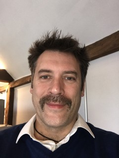 Day 22 & Ron Burgundy is emerging! Before you ask, I'm sure he does own another jumper!! #Movember #tash #menshealth